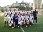L'Equipe Salerno Soccer con ex glorie rossoblù