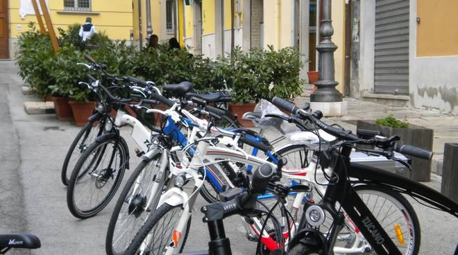 La gamma delle bici