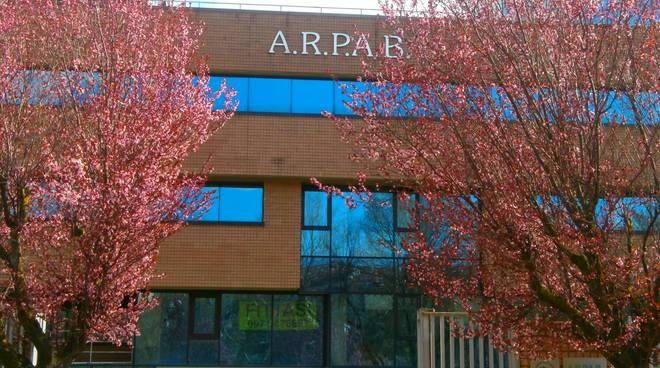 La sede dell'Arpab