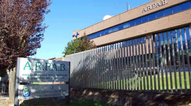 La sede dell'Arpab di Potenza
