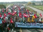 la manifestazione di Scanzano 2003