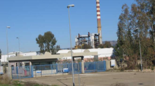 Una fabbrica della Valbasento