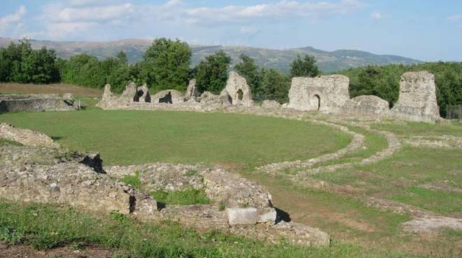 Il parco archeologico di Grumento