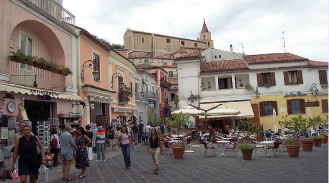 La piazzetta di Maratea