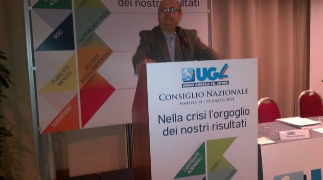 Giuseppe Giordano, segretario Ugl Basilicata