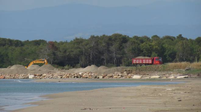 Una spiaggia di Metaponto