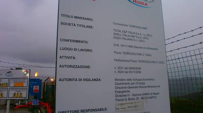 Cantiere Total a Tempa Rossa, Gorgoglione