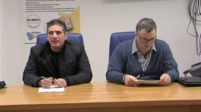 Da sinistra Gianni Perrino e Gianni Leggieri