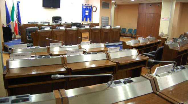 Sala del Consiglio regionale di Basilicata