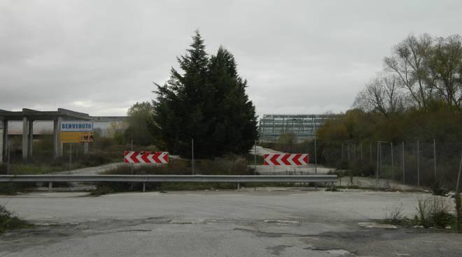 Ex Liquichimica nell'area industriale di Tito Scalo