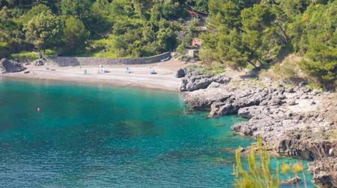 Una spiaggia di Maratea