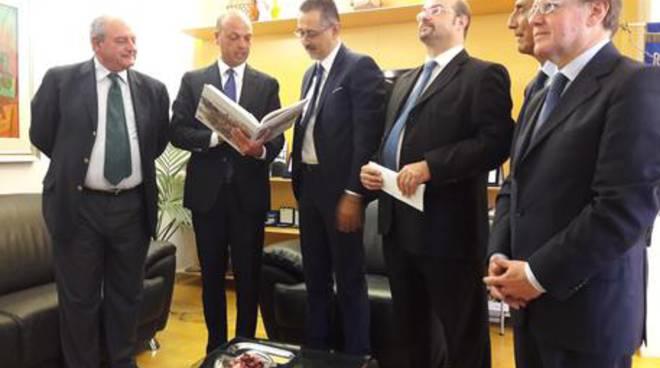 Alfano all'incontro con Pittella, Mollica, Pace e Taddei