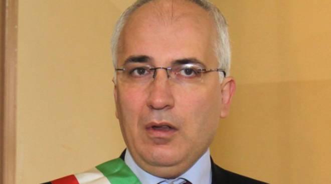 Il sindaco di Melfi, Livio Valvano