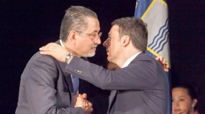 Marcello Pittella e Matteo Renzi