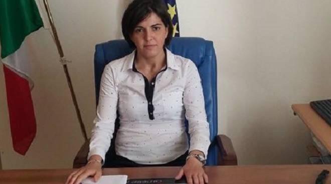 Il sindaco di Pisticci, Viviana Verri