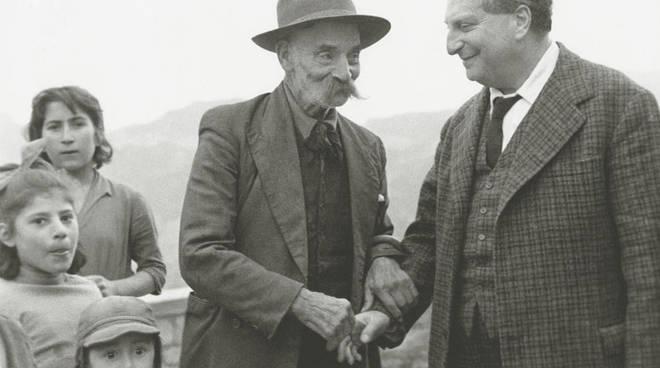 Carlo Levi, Aliano 1960 (Foto Mario Carbone)