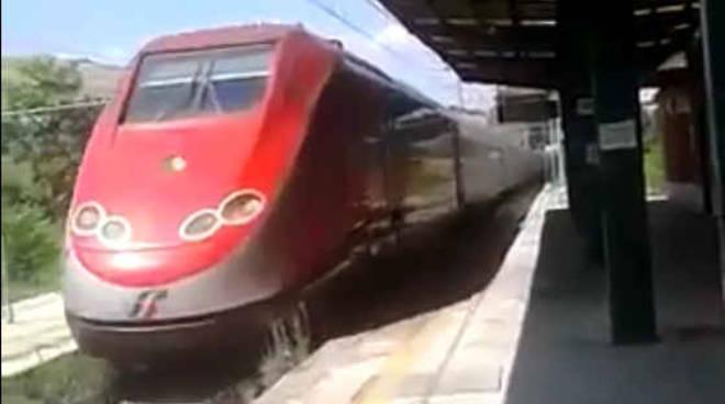 Il treno Frecciarossa