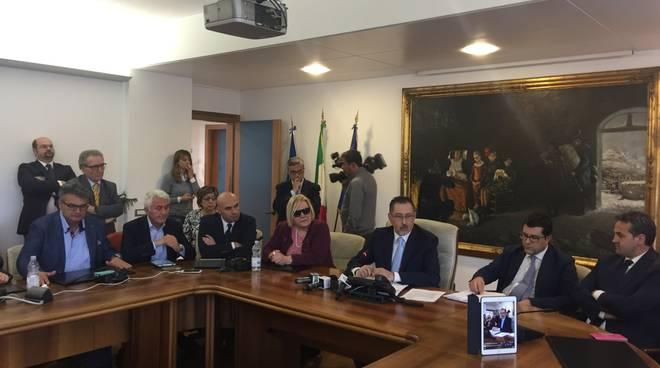 Conferenza stampa sul Cova