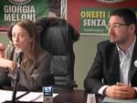 Gianni Rosa e Giorgia Meloni