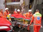 Un incidente sul lavoro