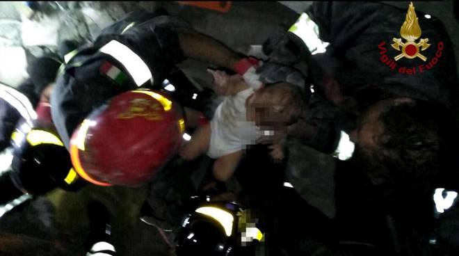 Immagine dei soccorsi