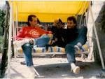 Mango e Graziano Accinni in una foto del 1986