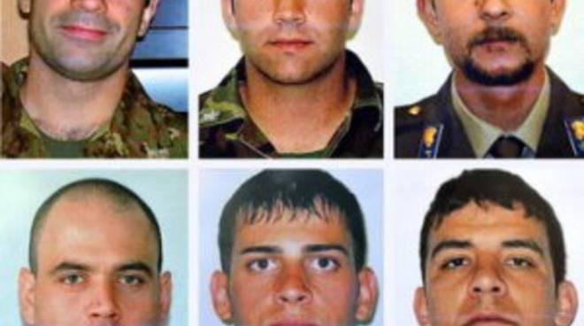 I sei militari morti nell'attentato