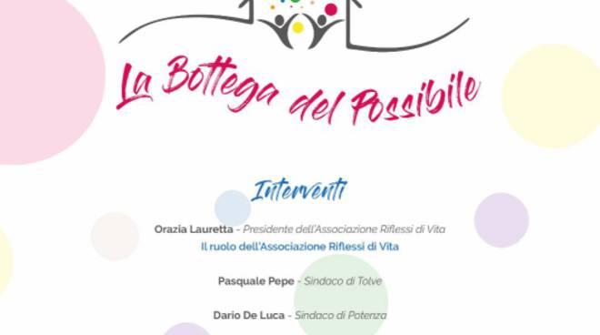 Invito inaugurazione La Bottega del possibile