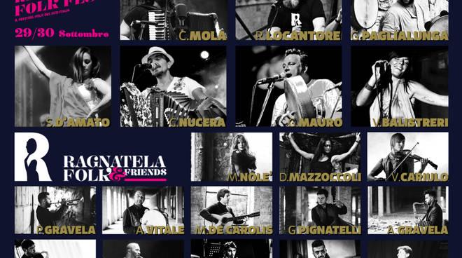 La locandina con gli artisti che si esibiranno a Montescaglioso