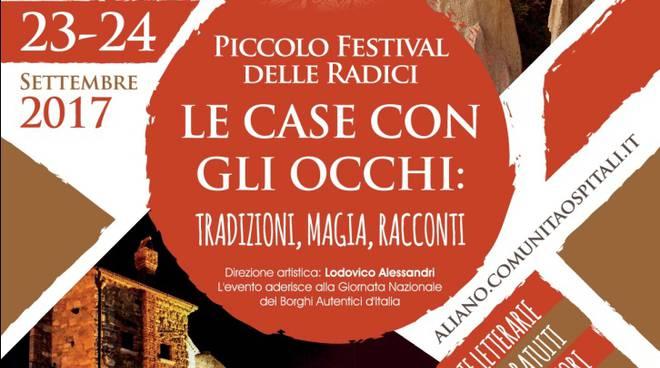 Locandina Piccolo festival delle Radici