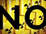 No al deposito di scorie nucleari