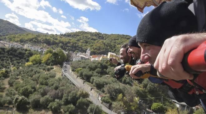 Danilo e Luca durante il Viaggio