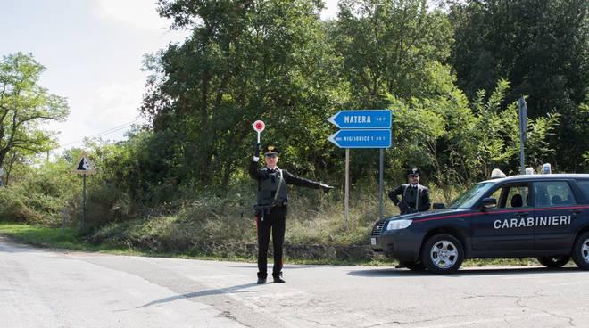 I controlli stradali dei carabinieri