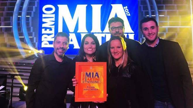 I Renanera al Premio Mia Martini
