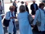 La manifestazione dei medici di continuità assistenziale