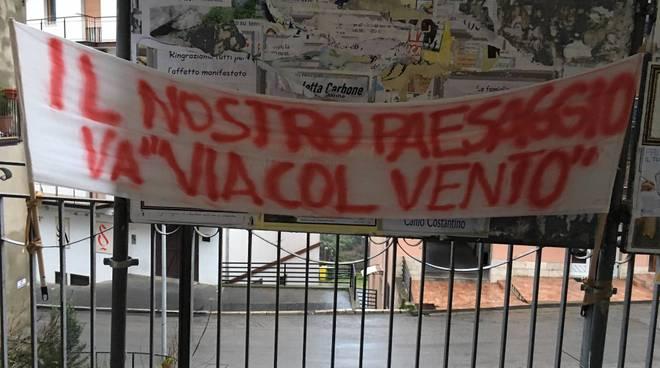 Manifestazioni dei cittadini a Oppido Lucano