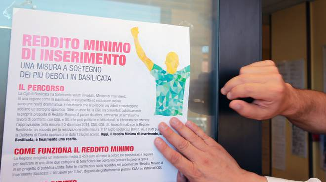 Manifesto Reddito minimo di inserimento
