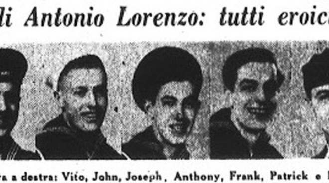 """I fratelli Lorenzo sul giornale """"Il progresso italo-americano"""""""