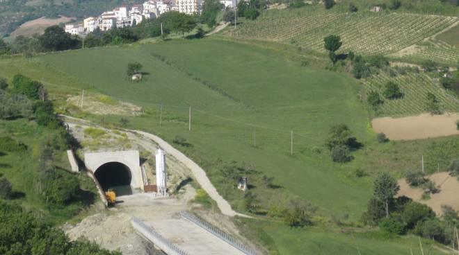 Un tratto della strada Oraziana