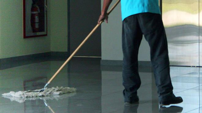 Addetto pulizie