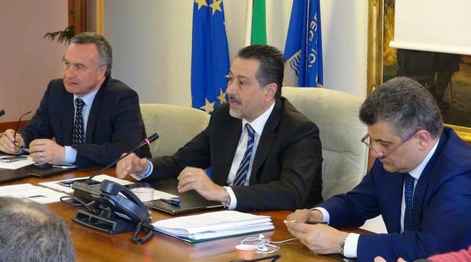 Bubbico, Pittella e De Filippo