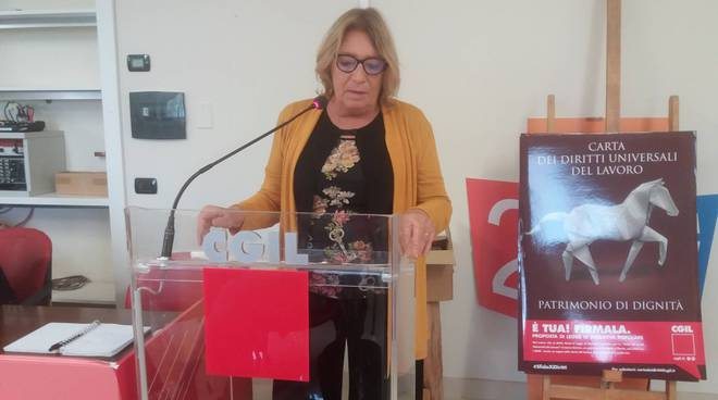 Francesca Re David, segretaria generale Fiom