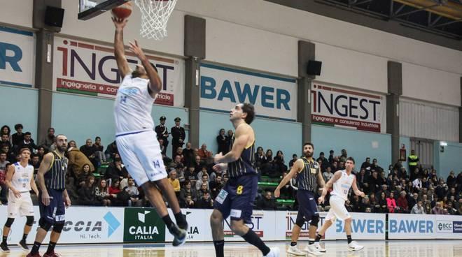 Olimpia basket (Foto Roberto Linzalone)