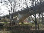 Il ponte Musmeci sul Basento