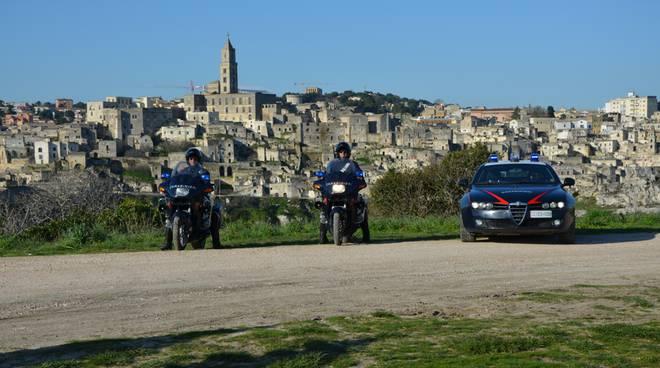 Carabinieri Sassi di Matera