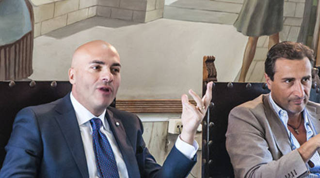 Assessore Braia e Commissario Musacchio