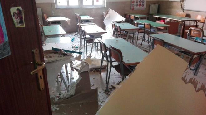crollo scuola