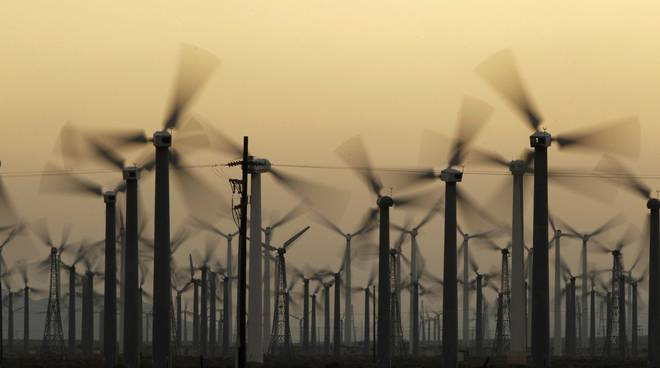 Risultati immagini per Matera eolico e scempio ambientale
