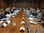 Il tavolo del Cis con il ministro