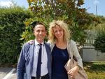 Antonio Mattia e Barbara Lezzi